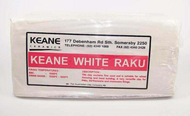 Keane White Raku