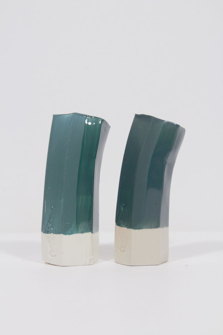 Underglaze Blue Green