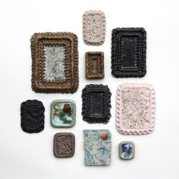 5. Madeleine Thornton-Smith, 'Small Peruvian frames', 2019, Cotto Designs residency