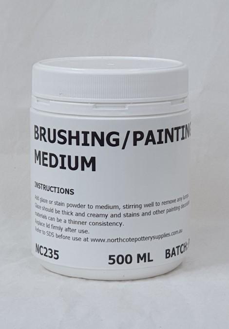 Brushing Medium