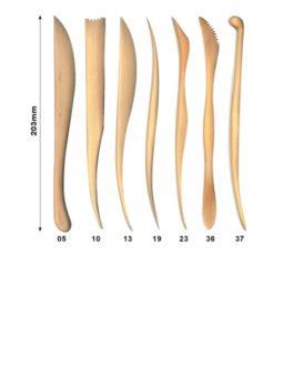 Wooden Modelling Tool Kit